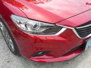 Хром накладки под передние фары Mazda 6 (2012-2015)