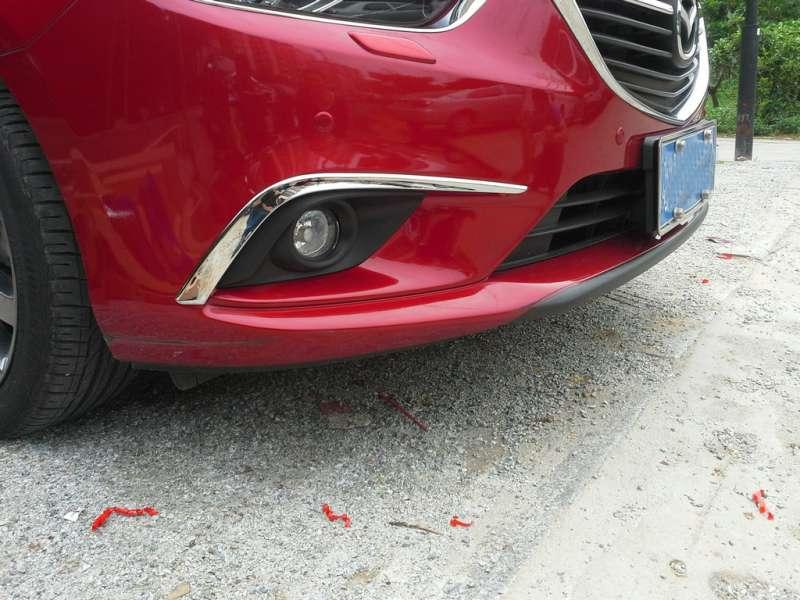 Накладки на передние ПТФ Mazda 6 (2012-2015), фото 3