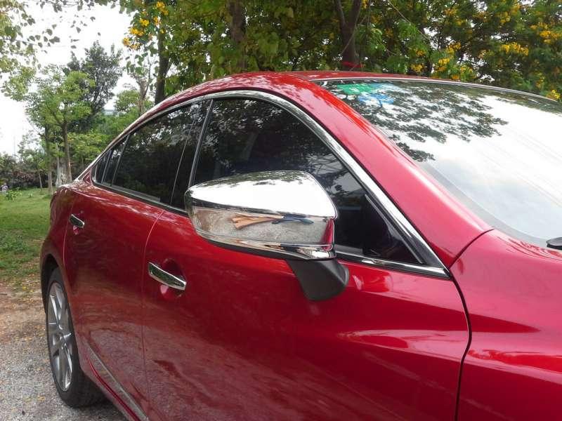 Накладки на зеркала заднего вида Mazda 6 (2012-2015), фото 3