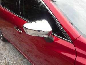 Накладки на зеркала заднего вида Mazda 6 (2012-2015)