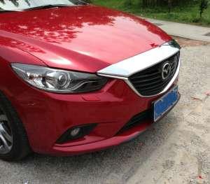 Накладка на капот Mazda 6 (2012-2015)