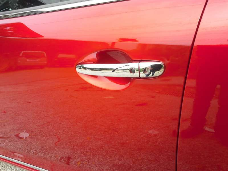Хромированные накладки на ручки Mazda 6 (2012-2015), фото 2