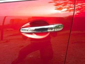 Хромированные накладки на ручки Mazda 6 (2012-2015)
