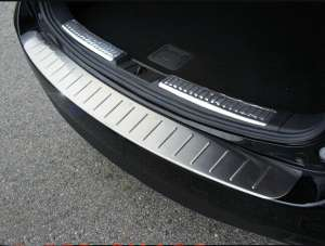Накладка на бампер (внешняя) Mazda 6 (2012-2015)