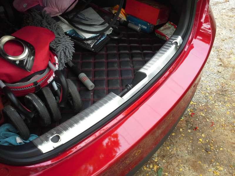 Накладка на бампер (внутренняя) Mazda 6 GJ