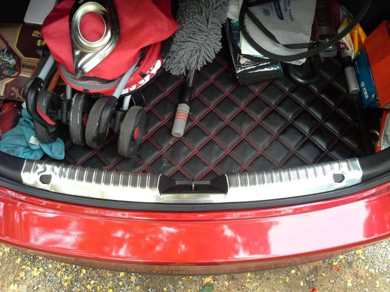 Накладка на бампер (внутренняя) Mazda 6 GJ, фото 2