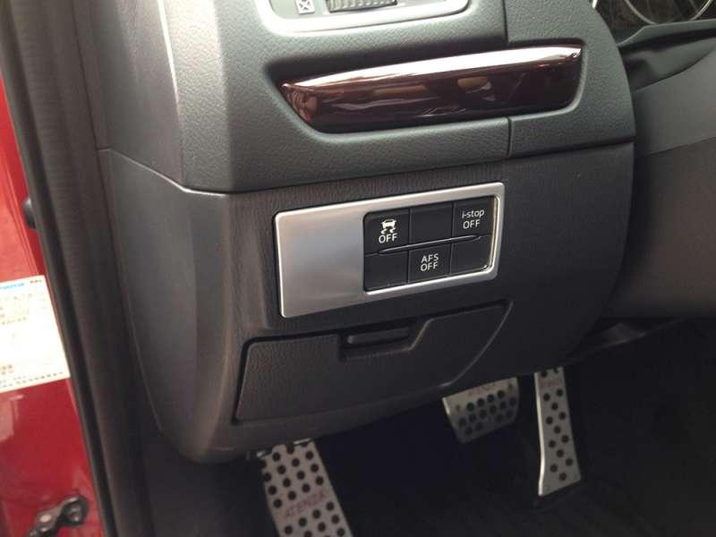 Окантовка кнопок Mazda 6 (2012-2015), фото 2