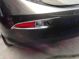 Накладки на задние ПТФ Mazda 3 (2013-2016)