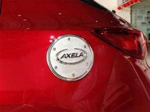 Накладка на крышку бензобака Mazda 3 (2013-2016)