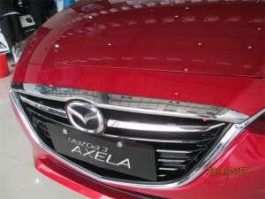 Накладка на капот Mazda 3 (2013-2016)