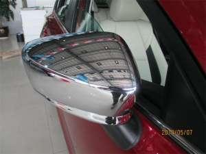 Накладки на зеркала заднего вида Mazda 3 (2013-2016)