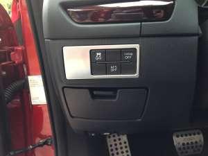 Окантовка кнопок Mazda 3 (2013-2016)