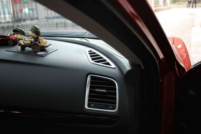 Хром окантовки передних воздуховодов Mazda 6 (2012-2015)