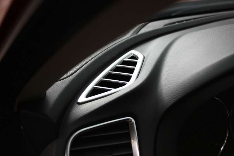 Хром окантовки передних воздуховодов Mazda 6 (2012-2015), фото 2