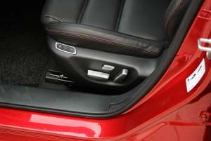 Накладки на кнопки регулировки сидений Mazda 6 (2012-2015)