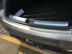 Накладка на бампер (внешняя) Mercedes-Benz GLE Coupe