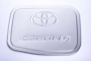 Накладка на крышку бензобака Toyota Corolla (2012-2016) (2 тип)