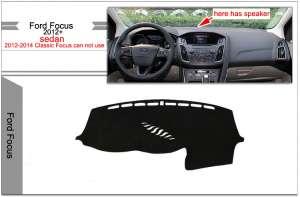 Защитное покрытие панели для Ford Focus 3 (с колонкой)