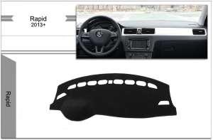 Защитное покрытие панели для Skoda Rapid (2012+)