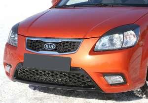 Передние реснички Kia Rio (2005-2011)