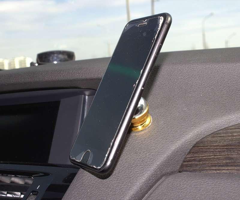 Магнитный держатель для телефона (Золото), фото 7