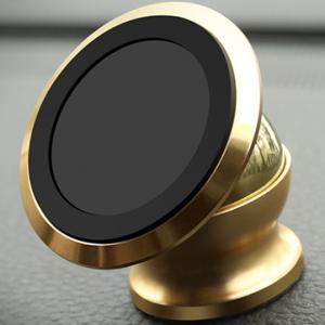 Магнитный держатель для телефона (Золото)