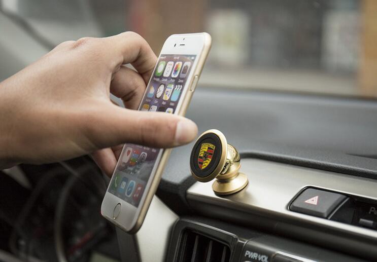 Магнитный держатель для телефона Land Rover, фото 5