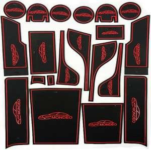 Коврики в подстаканники и в дверные ниши Ford Mondeo 5
