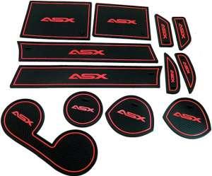 Коврики в подстаканники и в дверные ниши Mitsubishi ASX