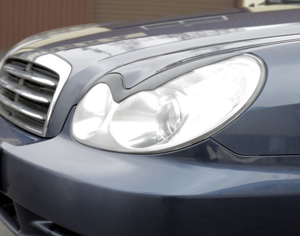 Передние реснички Hyundai Sonata
