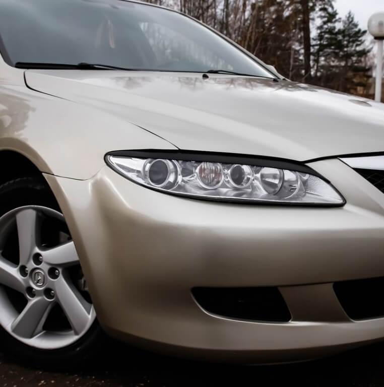 Передние реснички Mazda 6 (2002-2007)