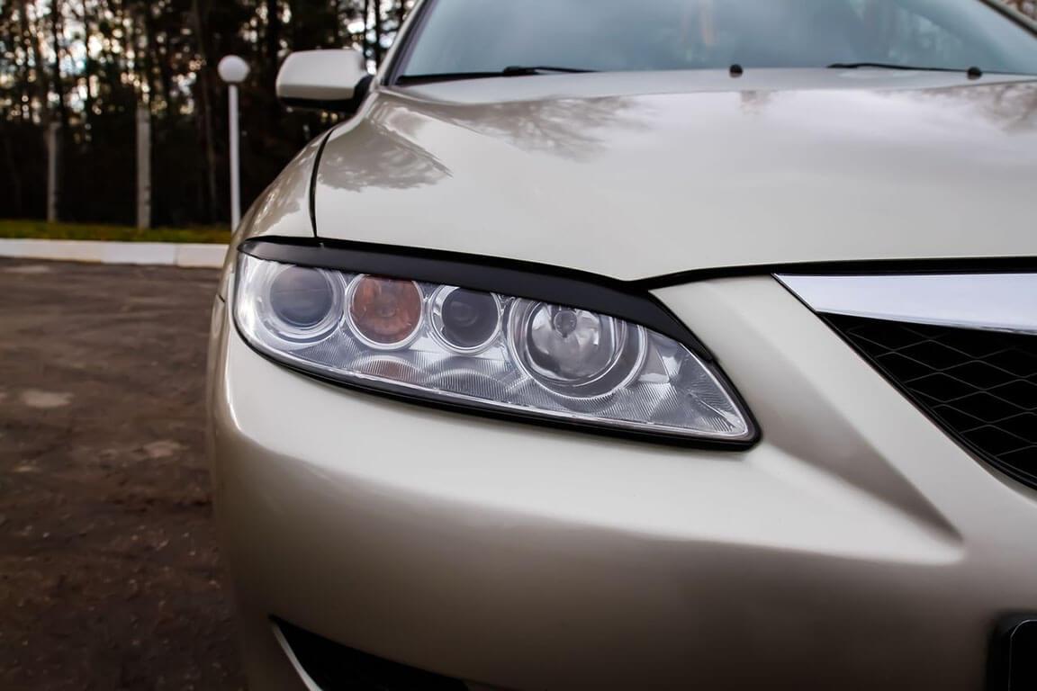 Передние реснички Mazda 6 (2002-2007), фото 3