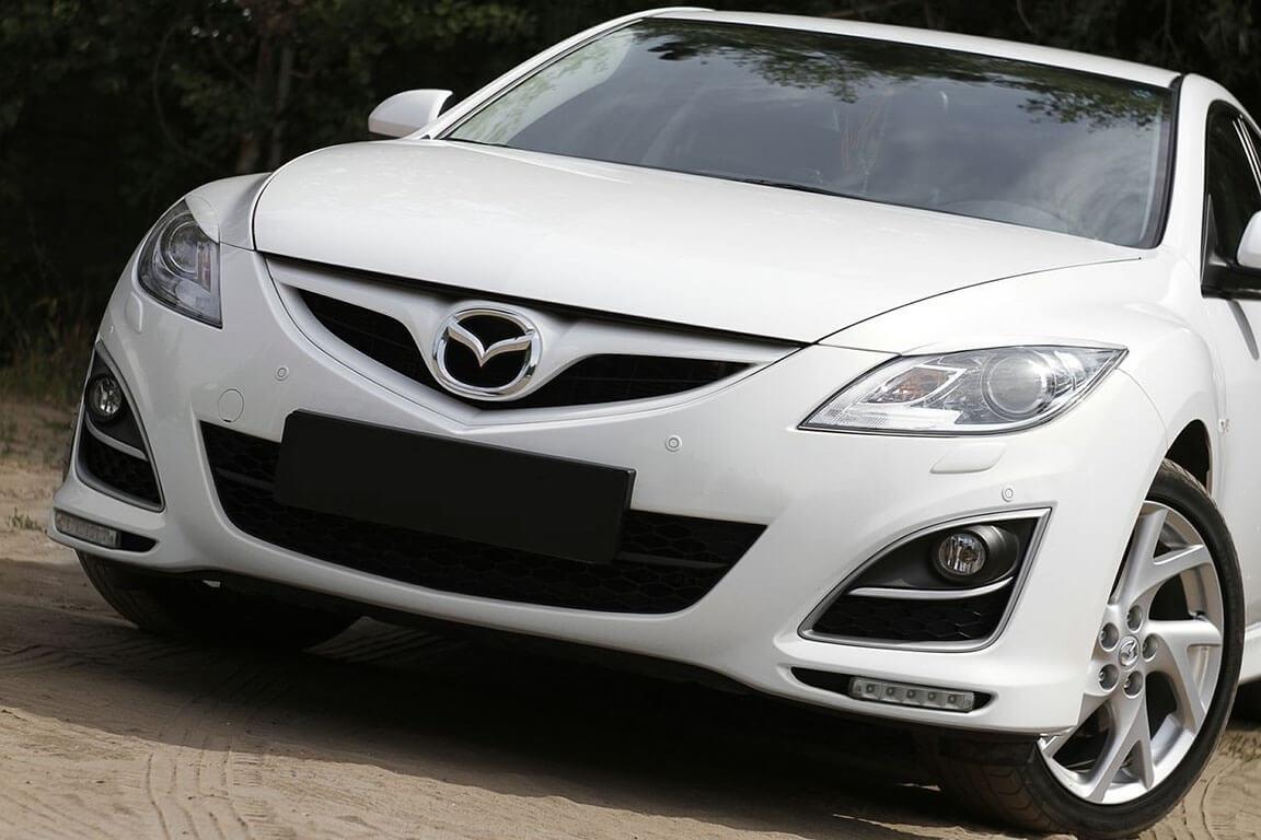 Передние реснички Mazda 6 (2007-2012) , фото 2