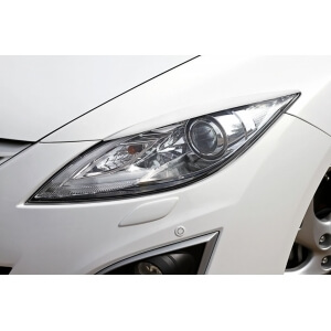 Передние реснички Mazda 6 (2007-2012)