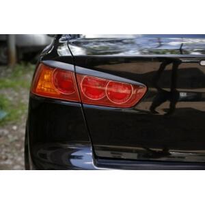 Задние реснички Mitsubishi Lancer X (2007-2010)