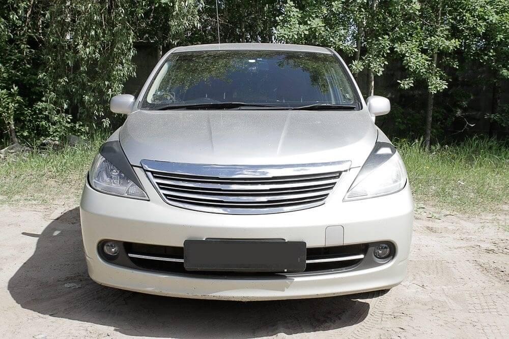 Передние реснички Nissan Tiida (2004-2014), фото 2