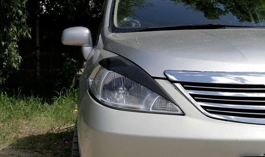 Передние реснички Nissan Tiida (2004-2014), фото 3