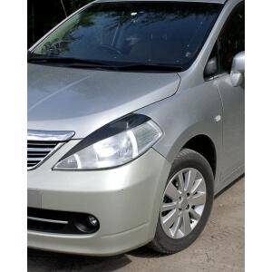 Передние реснички Nissan Tiida (2004-2014)