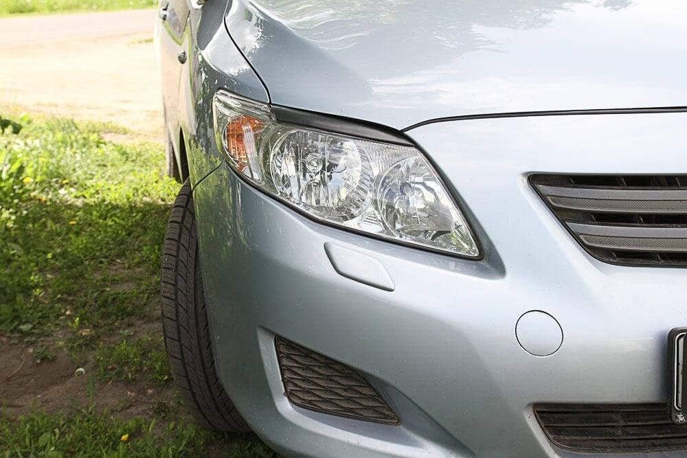 Передние реснички Toyota Corolla SD (2006-2010)
