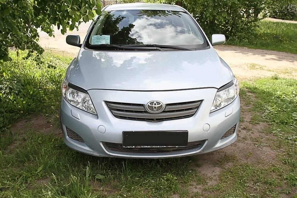 Передние реснички Toyota Corolla SD (2006-2010) , фото 3