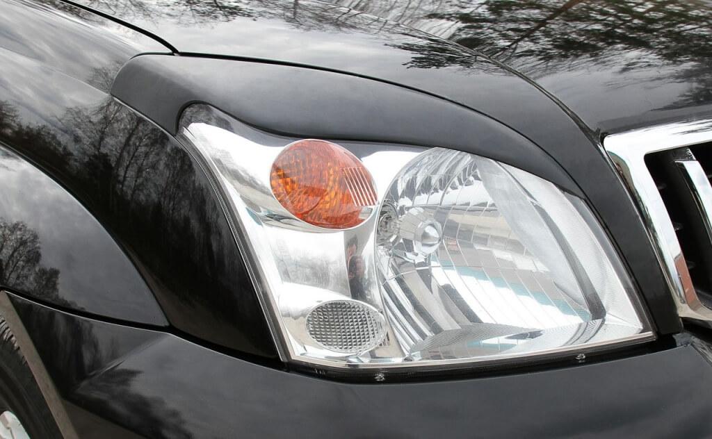 Передние реснички Toyota LC Prado 120 (2003-2009)