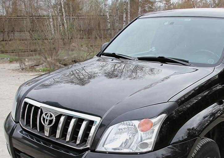 Передние реснички Toyota LC Prado 120 (2003-2009) , фото 3