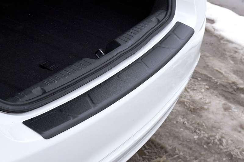 Пластиковая накладка на бампер Chevrolet Cruze (2012-2015), фото 4