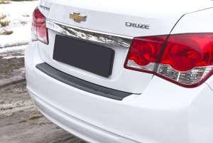Пластиковая накладка на бампер Chevrolet Cruze (2012-2015)