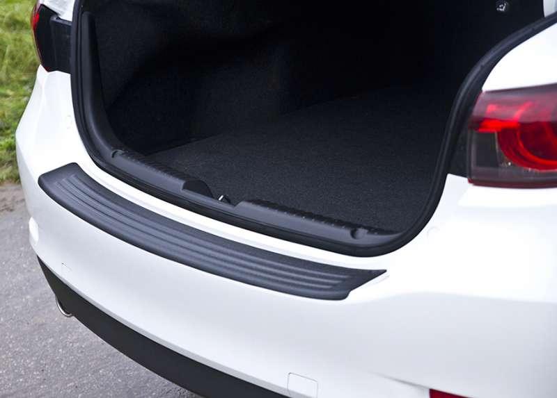 Пластиковая накладка на бампер Mazda 6 2015+ (GJ рестайлинг), фото 2