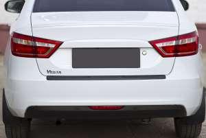 Лип-спойлер на Lada (ВАЗ) Vesta 2015+