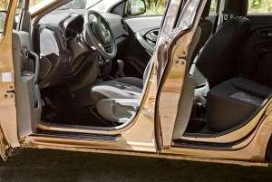 Накладки на внешние пороги Lada (ВАЗ) Xray 2016-