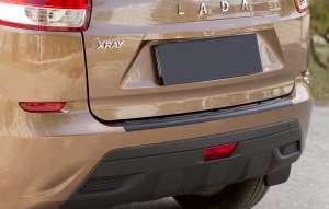 Пластиковая накладка на бампер Lada (ВАЗ) Xray 2016-