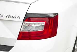 Задние реснички Skoda Octavia A7