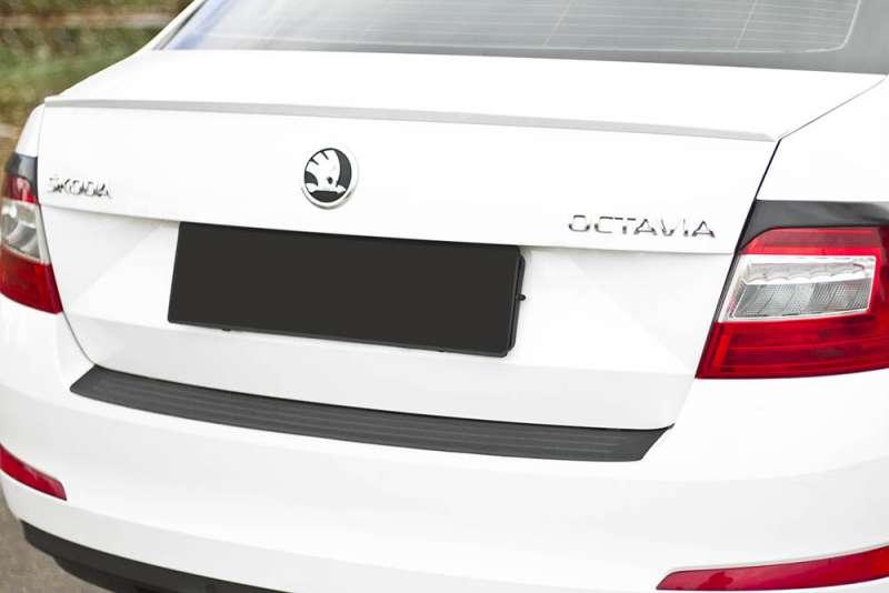 Пластиковая накладка на бампер Skoda Octavia A7